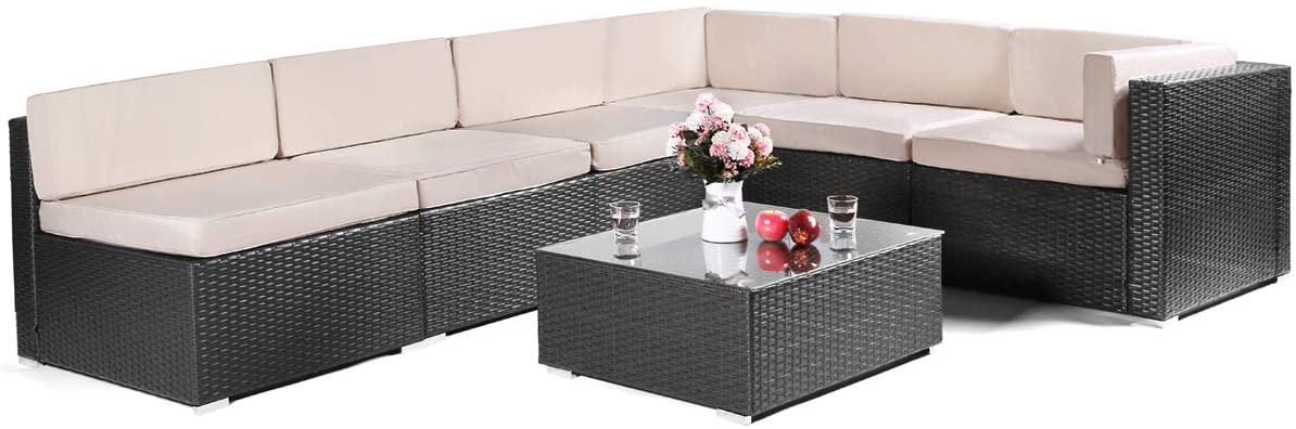 7 Pieces Patio Set