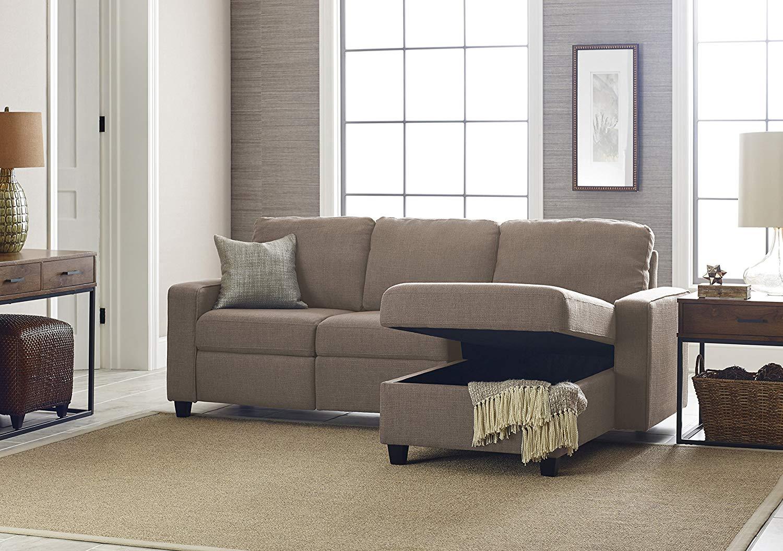 Serta Palisades Reclining Sectional Sofa With Right Storage Chaise. Serta  Palisades Reclining Sectional; Serta Palisades Reclining Sectional