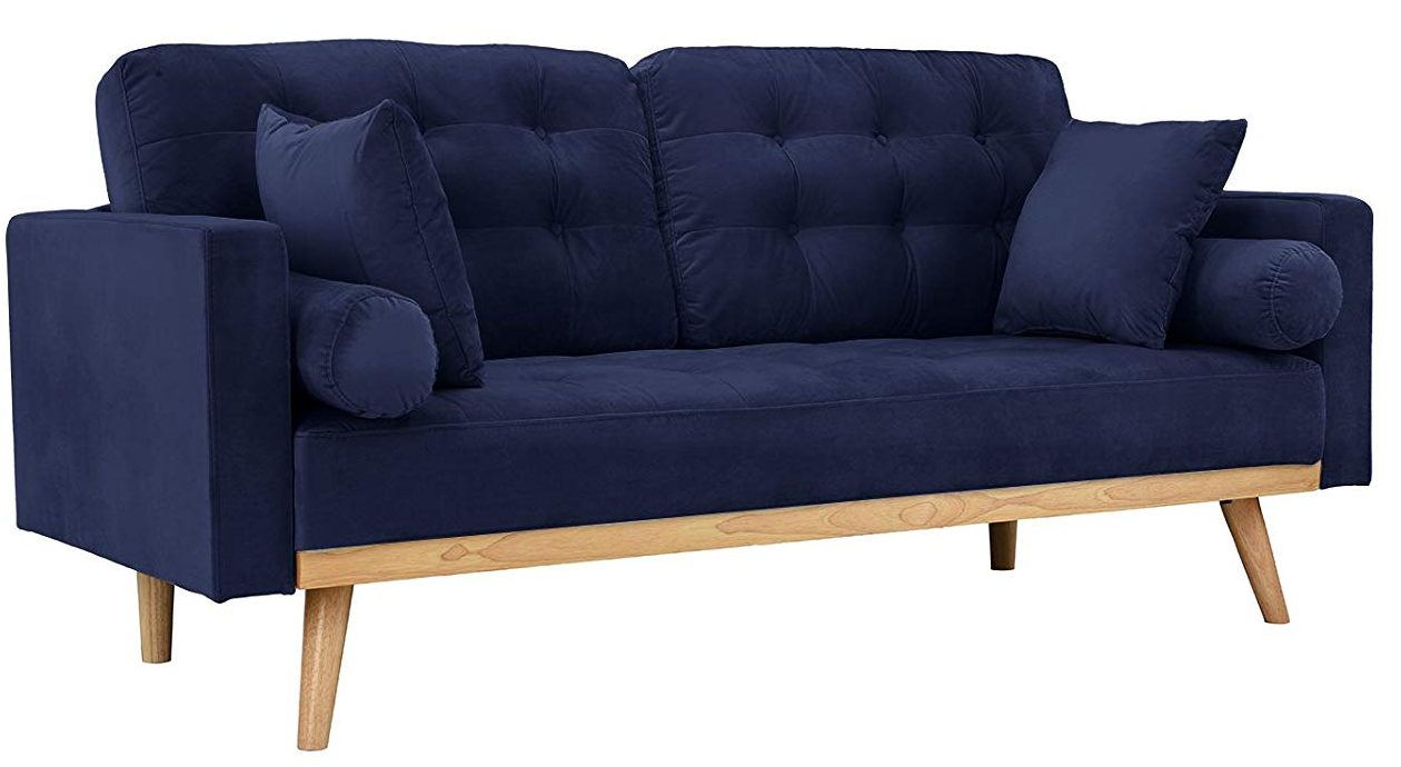 Why Contemporary Modern Blue Velvet Sofa Is Actually Good