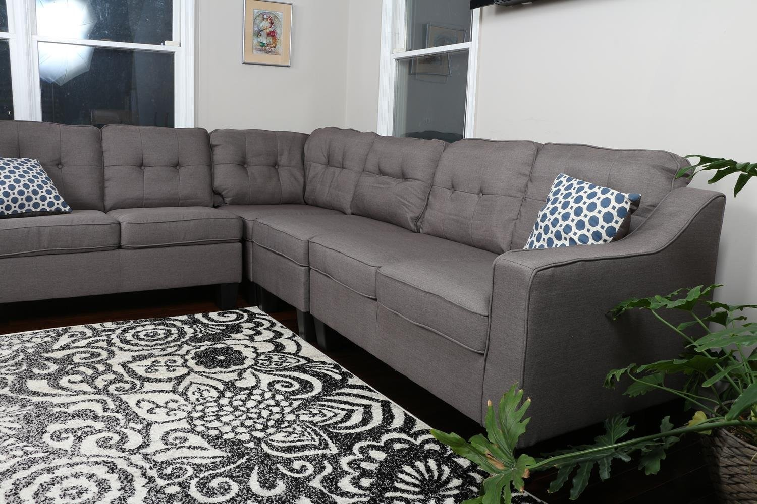 Grey Sectional Sofa Bed