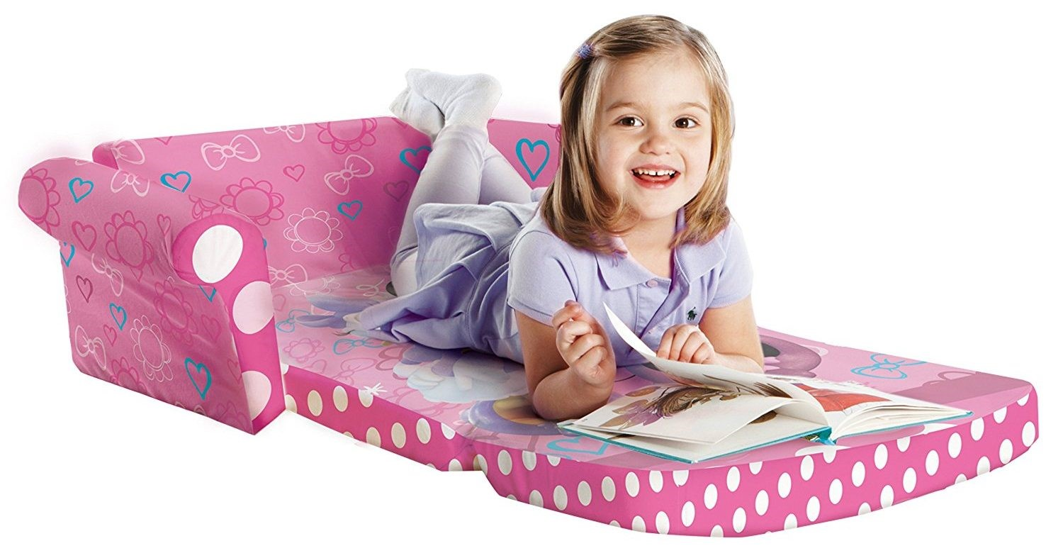 Marshmallow Furniture kids fold out couch