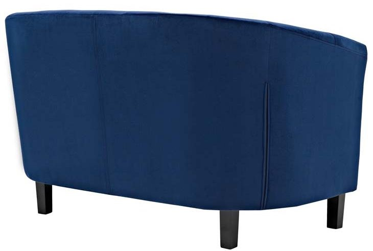 Navy Blue Velvet Sofa Bed