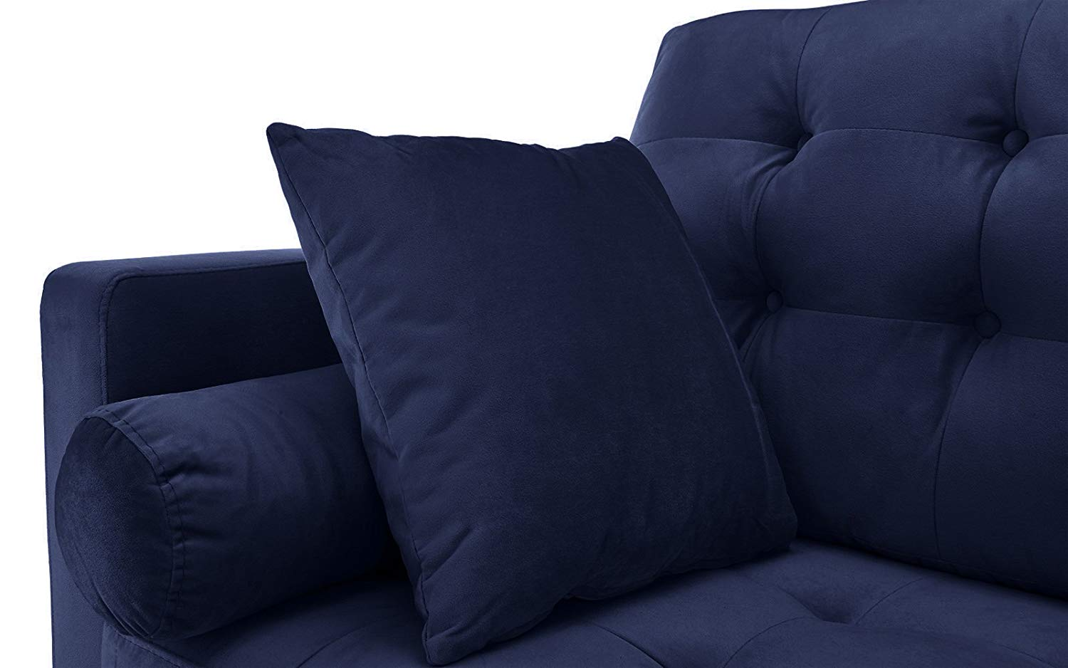 Navy Blue Velvet Sofa Loveseat