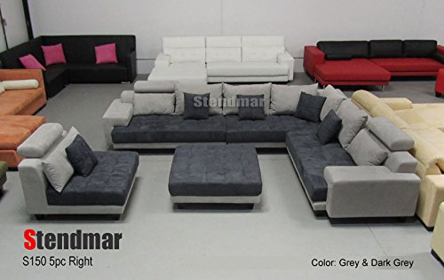 Queen Leather Sectional Sleeper Sofa
