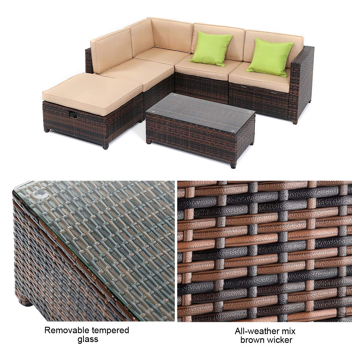 Wicker Sofa Sets