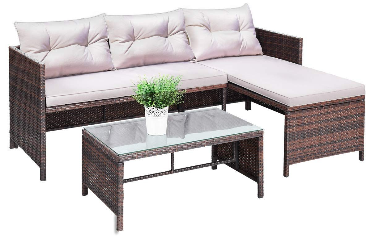 3 Piece Outdoor Seating