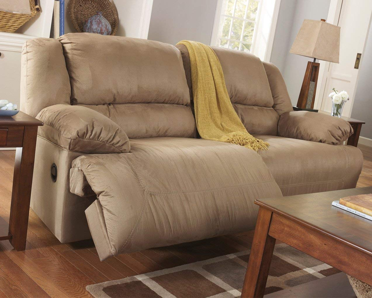 Brown Recliner Sofa