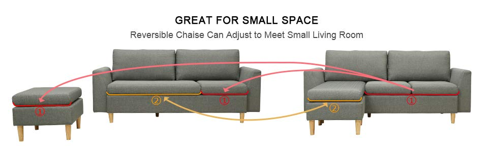 Small Couches For Small Spaces