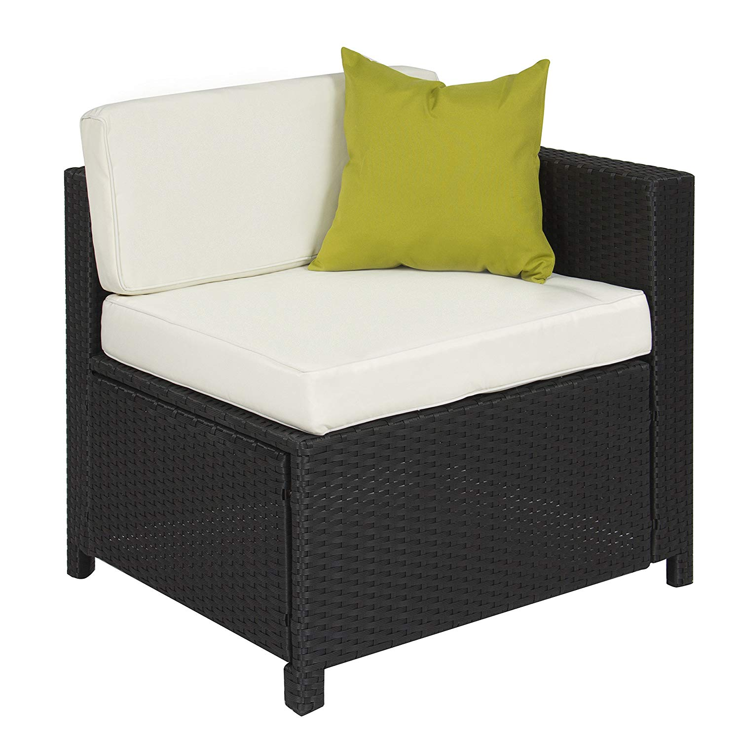 5-Piece wicker patio set